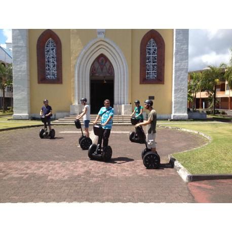 Plan Balade découverte ville de Papeete en Segway