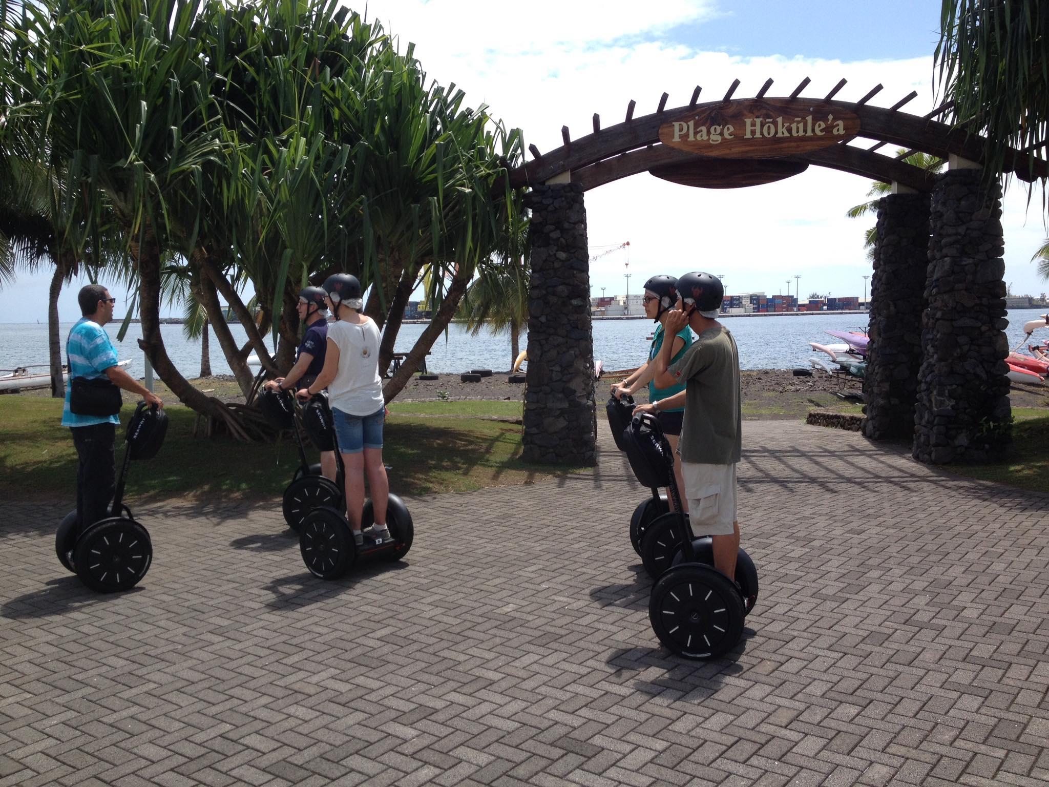 Parc Paofai en Segway à Papeete - Tahiti