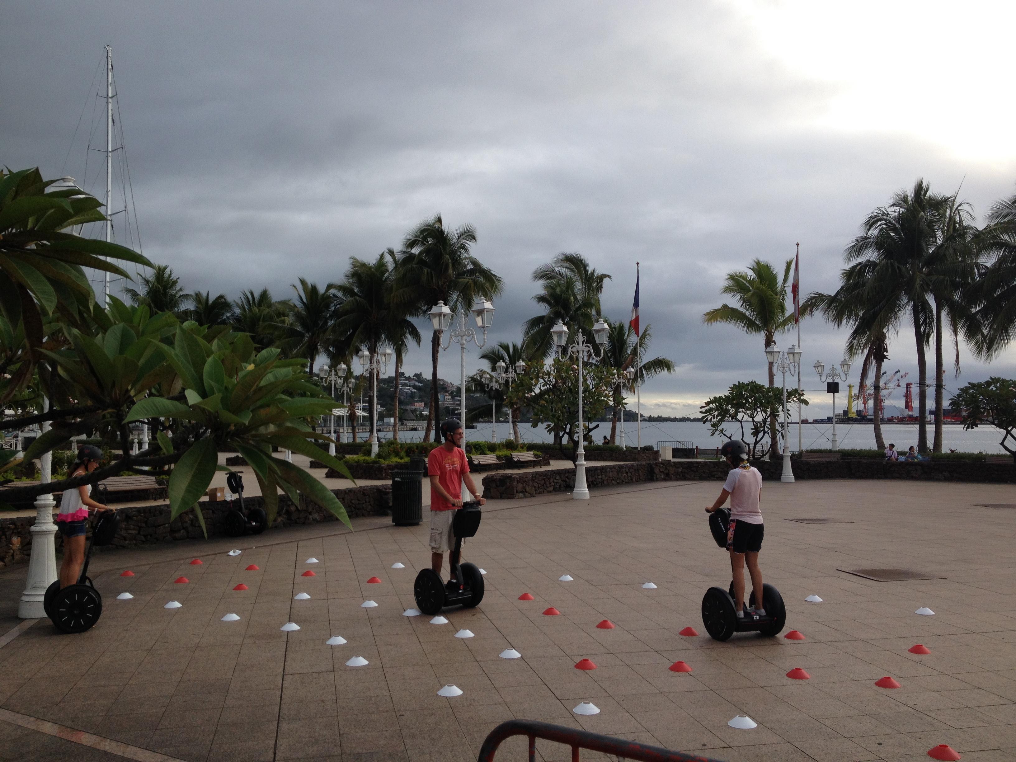 Front de mer Papeete Segway Tahiti