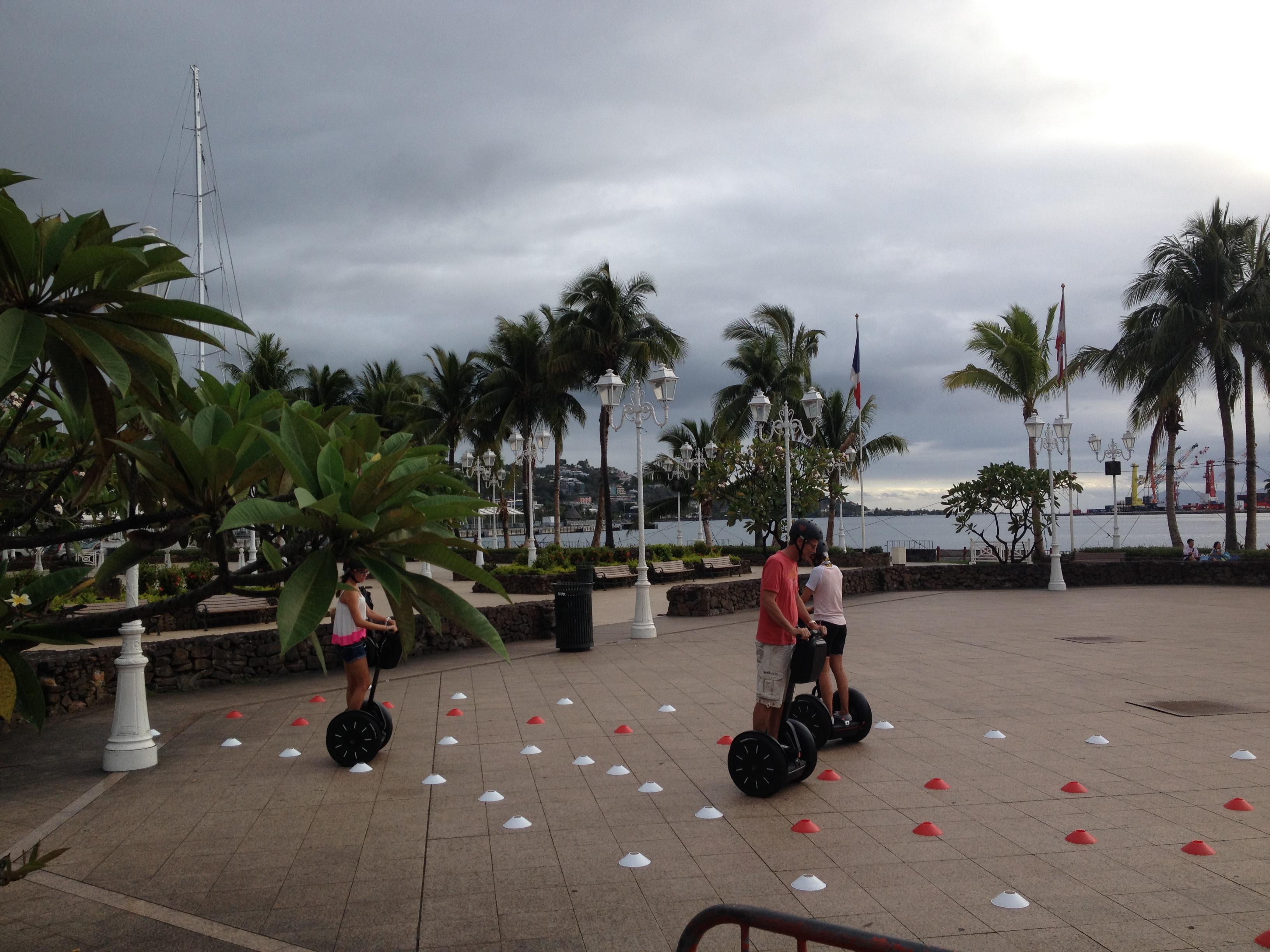 Initiation Segway à Tahiti