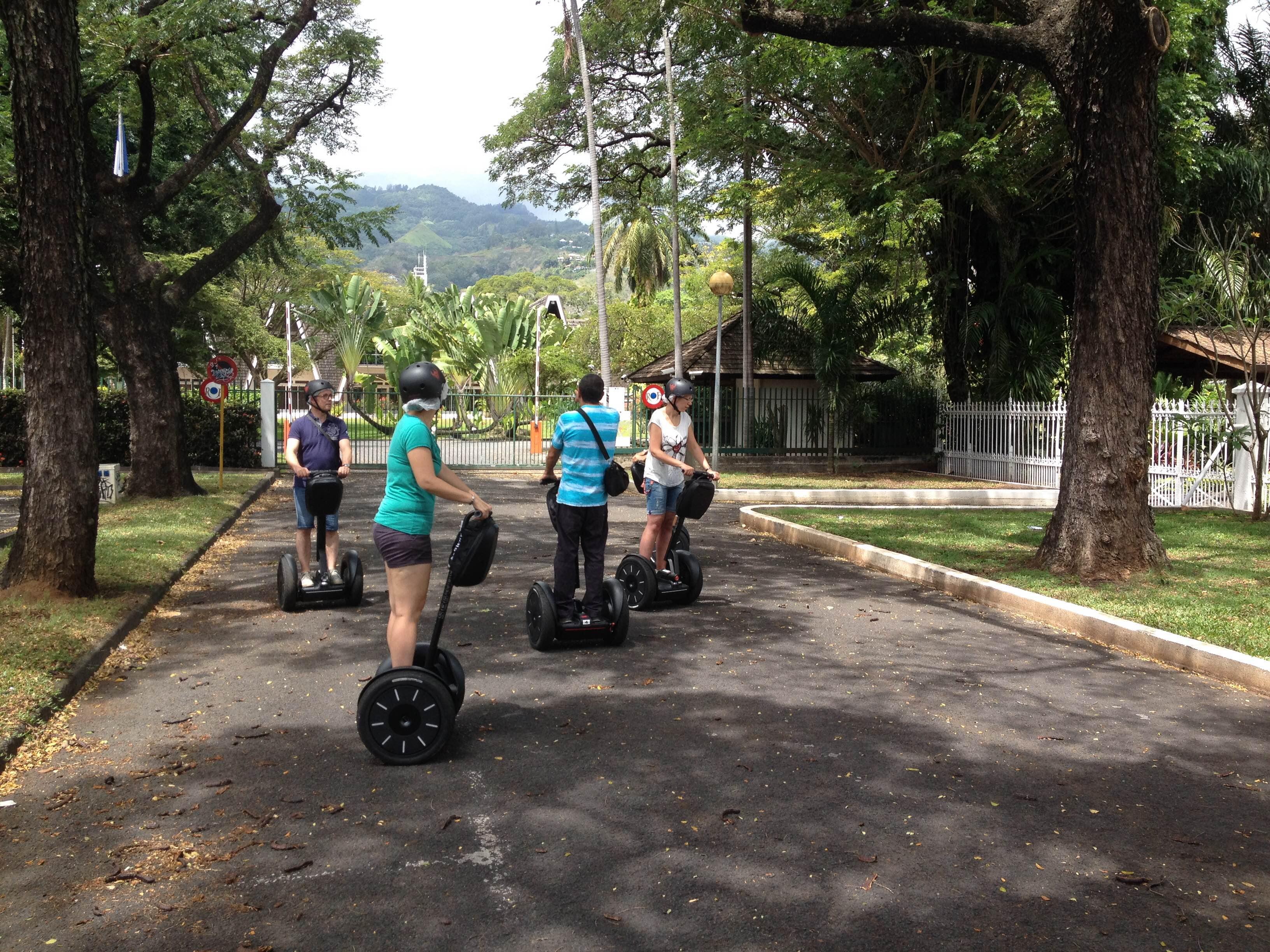 Haut commissariat en Segway à Papeete