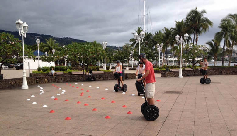 Segway Initiation with MaevaRide in Tahiti