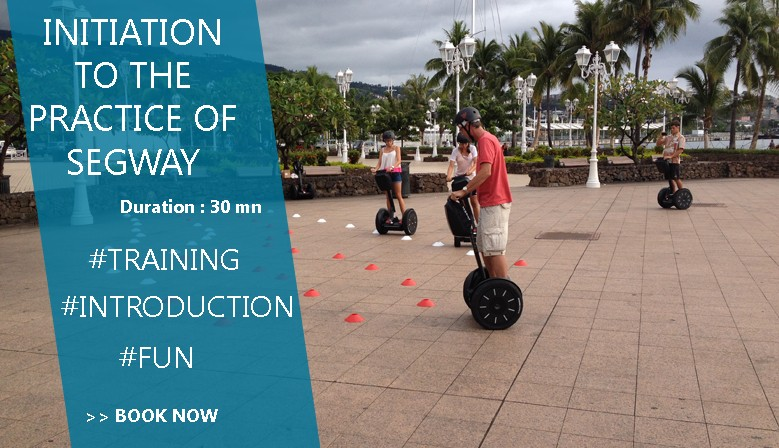 Segway Initiation with MaevaRide in Tahiti
