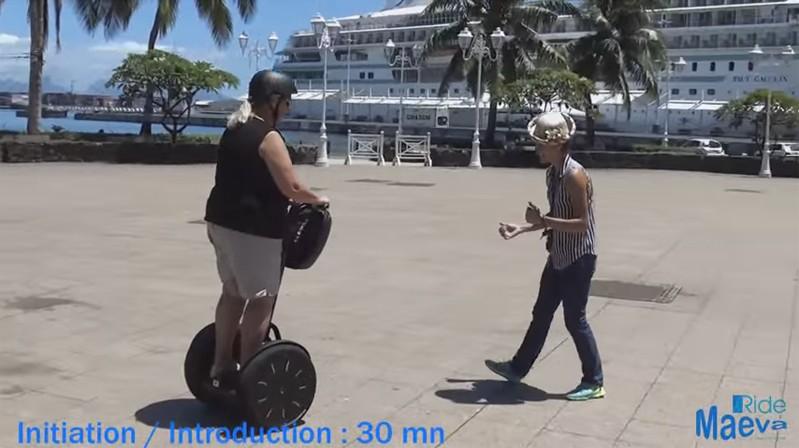 Video Segway French Polynesia