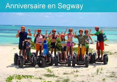 Anniversaire en Segway à Tahiti