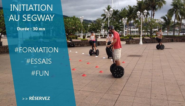 Initiation Segway avec MaevaRide à Tahiti